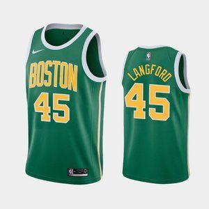 Boston Celtics #45 Romeo Langford Jersey